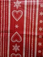 Snowflake Tablecloth  Square  150 x 150cms Coated